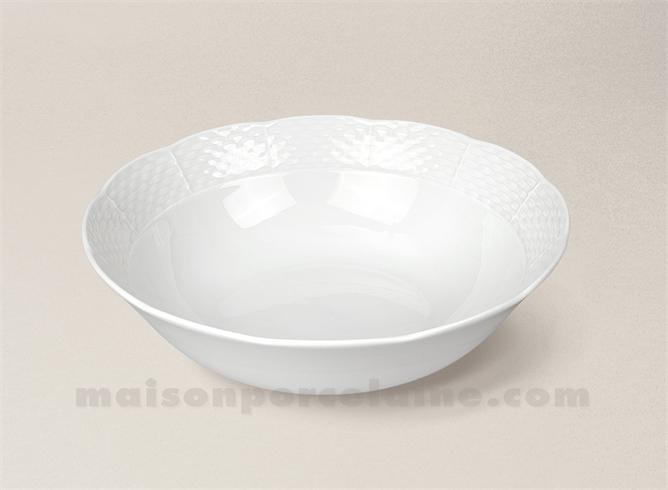 saladier porcelaine blanche natacha pm d21 maison de la porcelaine. Black Bedroom Furniture Sets. Home Design Ideas