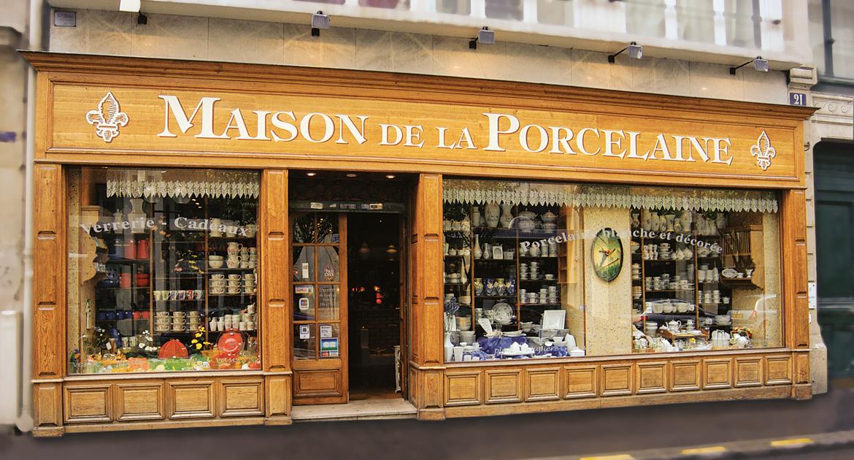 Boutique Paris - Maison de la Porcelaine