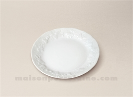 ASSIETTE COCKTAIL COUPE CALIFORNIA LIMOGES PORCELAINE BLANCHE D14.5555
