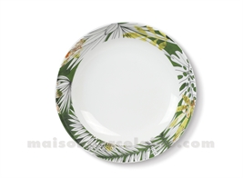 ASSIETTE CREUSE JUNGLE 20X4.2