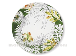 ASSIETTE PLATE JUNGLE D27