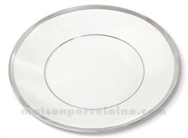 ASSIETTE PLATE LIMOGES ENVIE D28