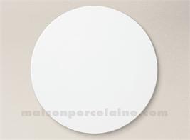 ASSIETTE PLATE PORCELAINE BLANCHE OSAKA D27