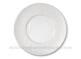 ASSIETTE PLATE REVES D'OPALINE D27 - Perle