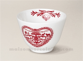 BOL SOUPE CHINOISE LIMOGES ORIENT 10X7