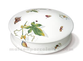 BOMBONNIERE LIMOGES RONDE PLATE ANDRE GM 19X7