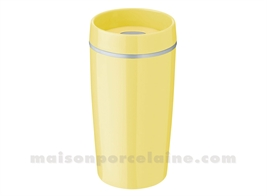 BRING-IT TO-GO MUG ISOTHERME 0.34 L. - JAUNE