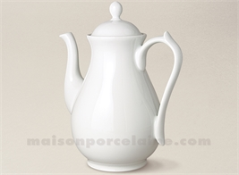 CAFETIERE PORCELAINE BLANCHE LIMOGES SEVRES MM 23X20 1.3L