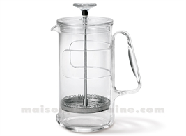 CAFETIERE/THEIERE 8 TASSES INOX 18/10 1L