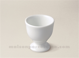 COQUETIER BABY LIMOGES PORCELAINE BLANCHE 5.5X5