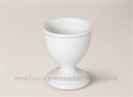 COQUETIER PORCELAINE BLANCHE TRADITION