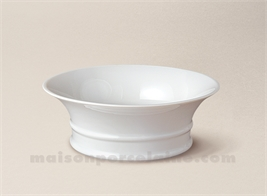 COUPE LIMOGES PORCELAINE BLANCHE EMPIRE PM D14