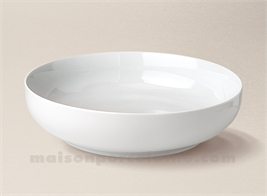 COUPE PORCELAINE BLANCHE BORDS DROITS ARTOIS N°3 D23