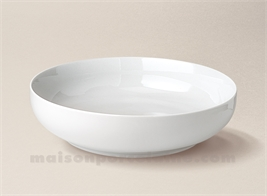 COUPE PORCELAINE BLANCHE BORDS DROITS ARTOIS N°4 D21