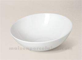 COUPE PORCELAINE BLANCHE OSAKA D21X7