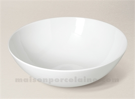 COUPE PORCELAINE BLANCHE OSAKA D26X8.8
