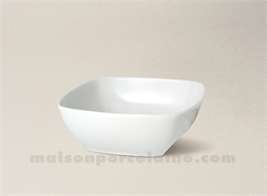 COUPELLE CARREE PORCELAINE BLANCHE SAHARA 9X9