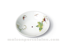 COUPELLE CREME LIMOGES EMPIRE D14.5