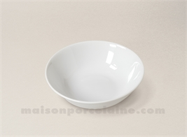 COUPELLE CREME LIMOGES PORCELAINE BLANCHE ENVIE D16
