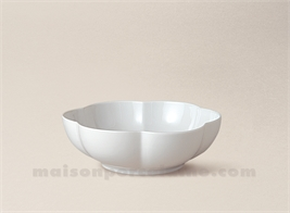 COUPELLE LIMOGES PORCELAINE BLANCHE COROLLE N°3 D13