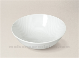 COUPELLE PORCELAINE BLANCHE ABBA GM D16CM