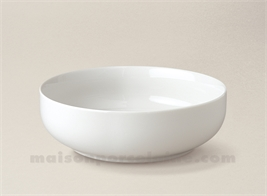 COUPELLE PORCELAINE BLANCHE BORDS DROITS ARTOIS N°5 D16