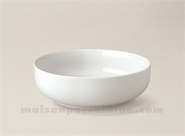 COUPELLE PORCELAINE BLANCHE BORDS DROITS ARTOIS N°6 D13