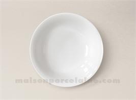 coupelle porcelaine blanche conique sologne 13x4 maison de la porcelaine. Black Bedroom Furniture Sets. Home Design Ideas