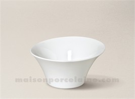 COUPELLE PORCELAINE BLANCHE KOSMOS 11.5X6 18CL