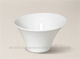 COUPELLE PORCELAINE BLANCHE KOSMOS 14X8 36CL
