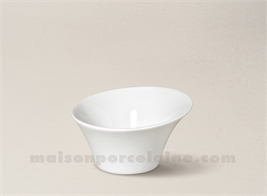 COUPELLE PORCELAINE BLANCHE KOSMOS 9X5 9CL