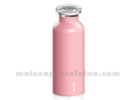 ENERGY - BOUTEILLE ISOTHERME D6,5XH18CM 33CL ROSE