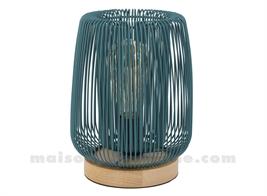 FERLINE - LAMPE EMERAUDE D19.5XH23CM