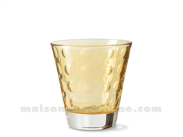 GOBELET BAS / EAU / WHISKY OPTIC  9X8.5 25CL