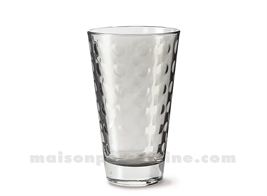 GOBELET HAUT / SODA / LONG DRINK OPTIC BASALTO 30CL 13X8