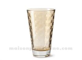 GOBELET HAUT / SODA / LONG DRINK OPTIC MARRONE 30CL 13X8