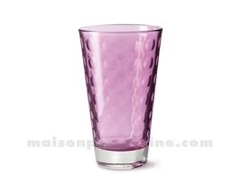 GOBELET HAUT / SODA / LONG DRINK OPTIC VIOLA 30CL 13X8