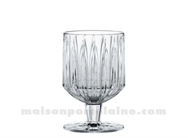JULES - VERRE PIED ALL PURPOSE  26 CL H12,5 CM -  COF/4