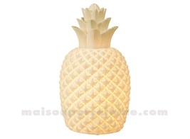 LAMPE BISCUIT - ANANAS H31-15,7X9,4CM