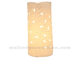 LAMPE BISCUIT - CYLINDRE LIANE GM H26,5X10,5CM