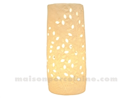 LAMPE BISCUIT - CYLINDRE LIANE MM H23X10,5CM