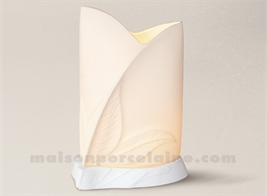 LAMPE ALIZEE FEUILLE H25