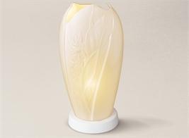 LAMPE BISCUIT PORCELAINE DE LIMOGES OSSIMILH34-18X10CM+SOCLE 3CM