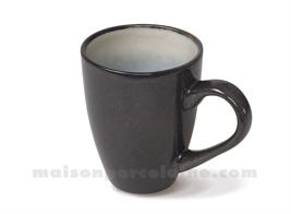 MUG GRES MEDARD DE NOBLAT SHADOW NACRE 30CL
