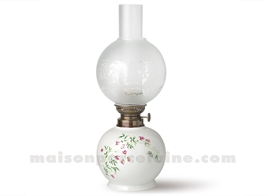 PIED DE LAMPE BOULE ELECTRIQUE LIMOGES 39X15