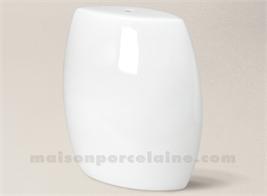 PIED DE LAMPE LIMOGES PORCELAINE BLANCHE LOLA 29X27