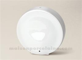 PIED DE LAMPE LIMOGES PORCELAINE BLANCHE LUCAS GM 27X25,5
