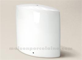 PIED DE LAMPE LIMOGES PORCELAINE BLANCHE REBECCA N°1 28CM