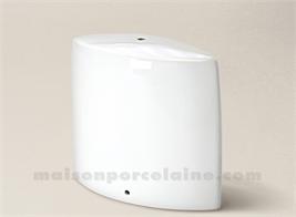 PIED DE LAMPE LIMOGES PORCELAINE BLANCHE REBECCA N°2 22CM