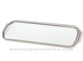 PLAT CAKE LIMOGES EMPIRE 37X15